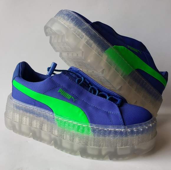 wholesale dealer debfd f17b1 New Puma Cleated Creeper Surf Womens Blue Green NWT